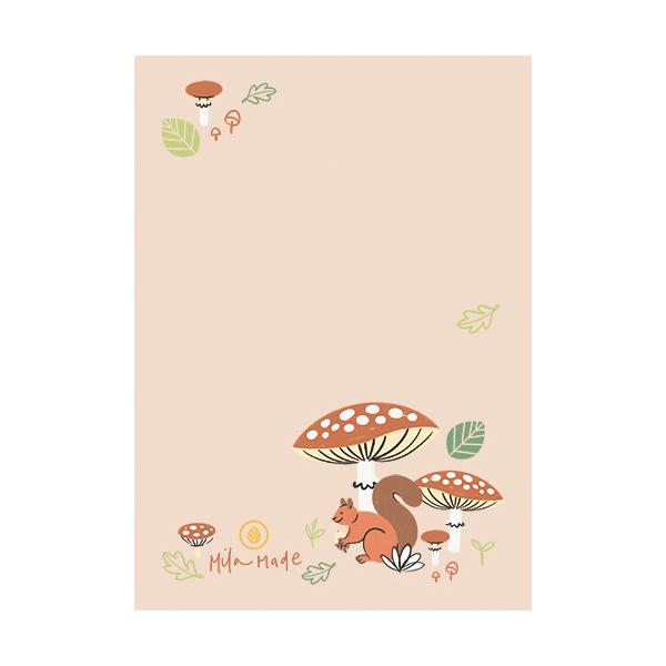 Notitieblok herfst, Mila-made