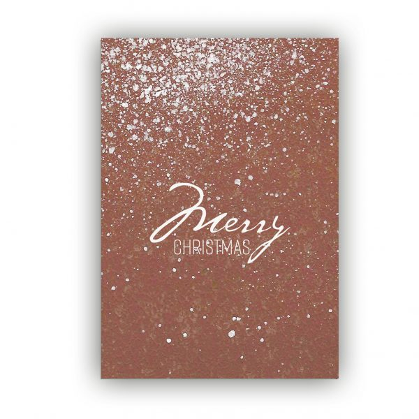Kaart Merry Christmas, Marieke ten Berge