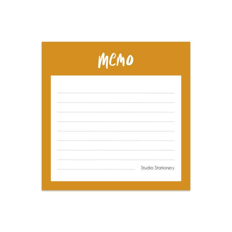 Mini notitieblok memo, Studio Stationery