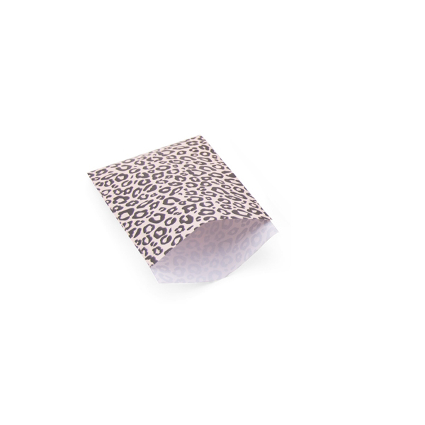 Zakje luipaard rose (klein)