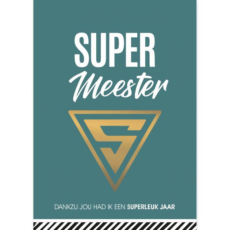 Kaart Super Meester