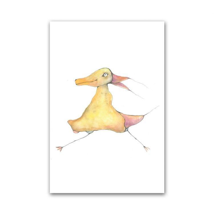 Kaart rare vogel, Fantasiebeestjes