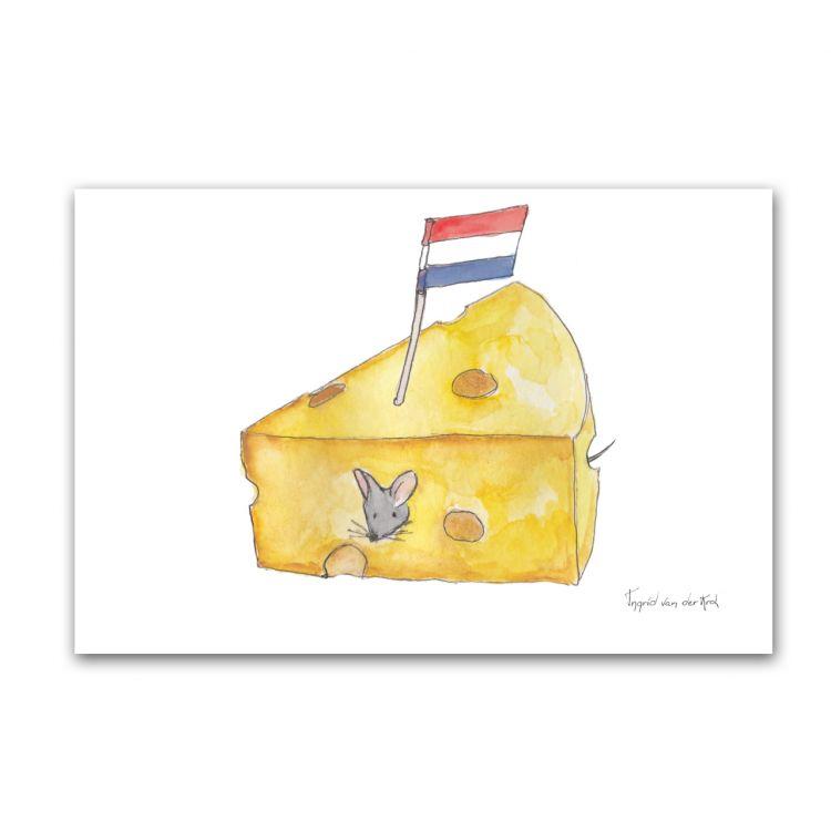 Kaart Hollands kaas, Fanatasiebeestjes