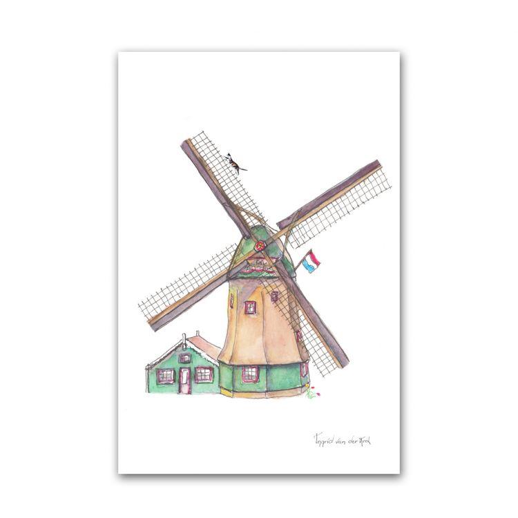 Kaart Hollands molen, Fanatasiebeestjes