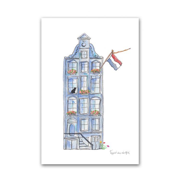Kaart Hollands huisje, Fanatasiebeestjes