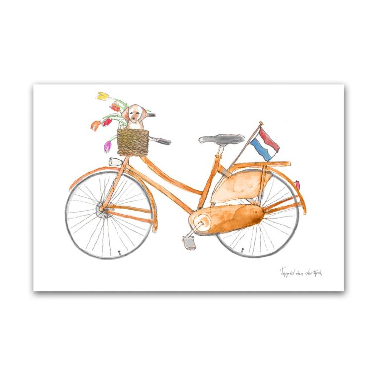 Kaart Hollands fiets, Fantasiebeestjes