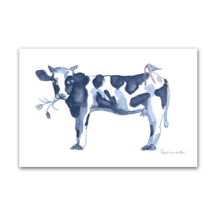 Kaart Hollands blauw koe, Fanatasiebeestjes