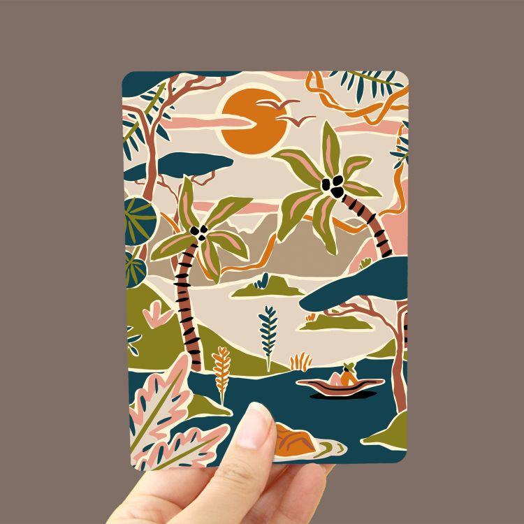 Kaart regenwoud, Marijke Buurlage