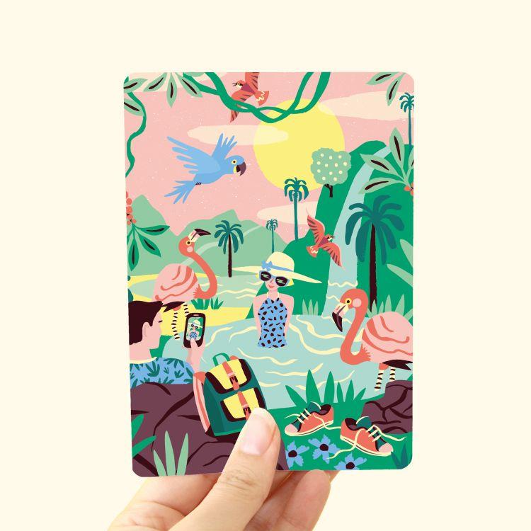 Kaart Tropisch Paradijs, Marijke Buurlage