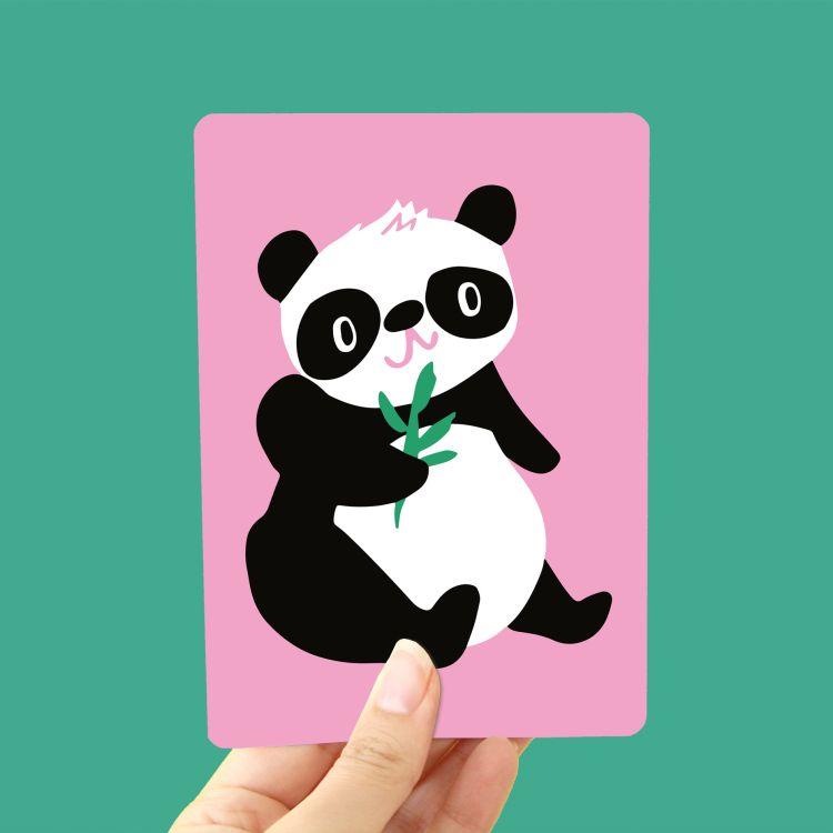 Kaart Panda, Marijke Buurlage