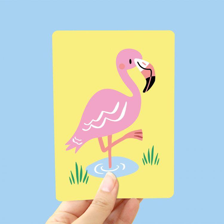 Kaart Flamingo, Marijke Buurlage