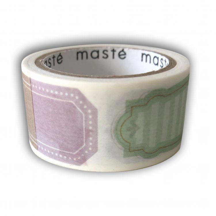 Maskingtape kaders, (pre-cut) Masté