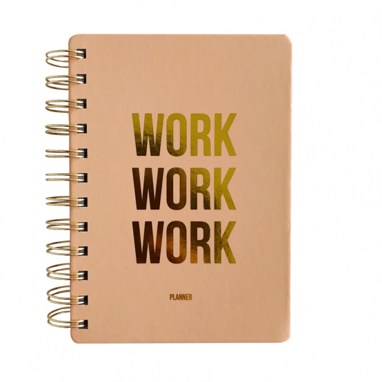 Planner Work Work Work, Studio Stationery