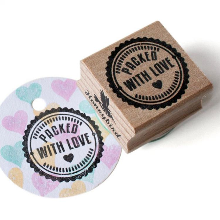 Stempel Packed with Love, Miss Honeybird
