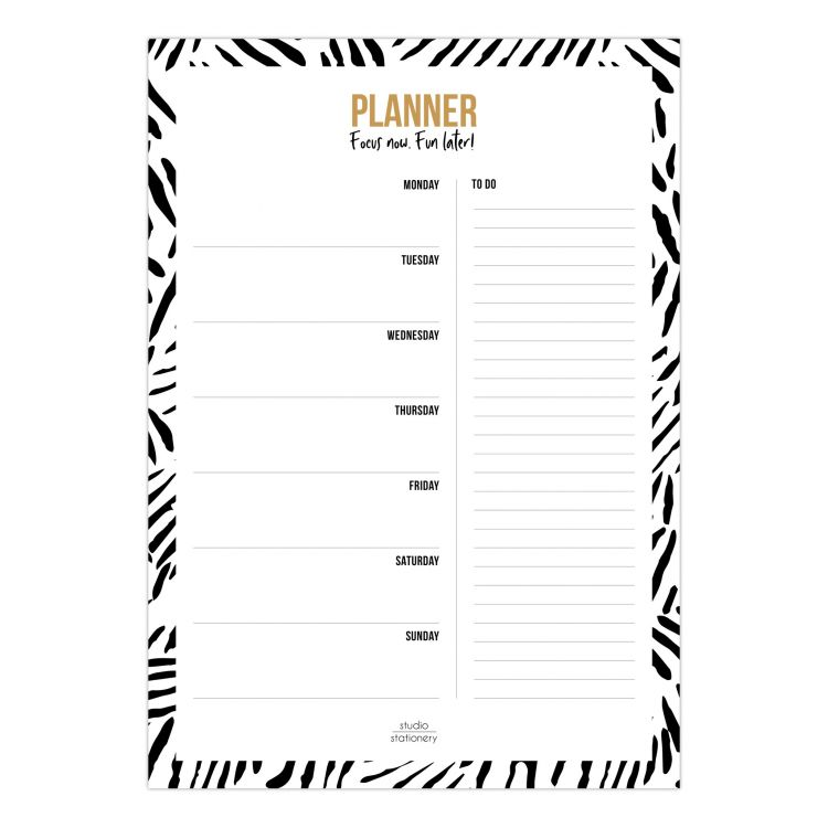A4 planner leaves, Studio Stationery