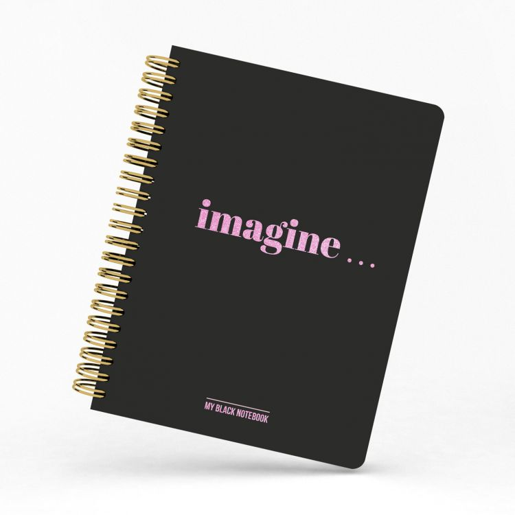 My black notebook, Studio Stationery