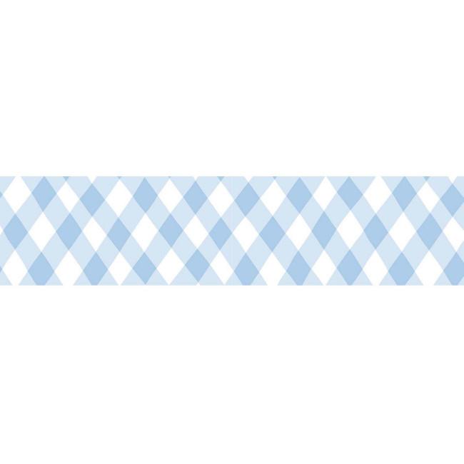 Blauw geruit beschrijfbaar maskingtape, Masté