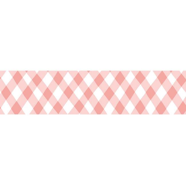 Rood geruit beschrijfbaar maskingtape, Masté