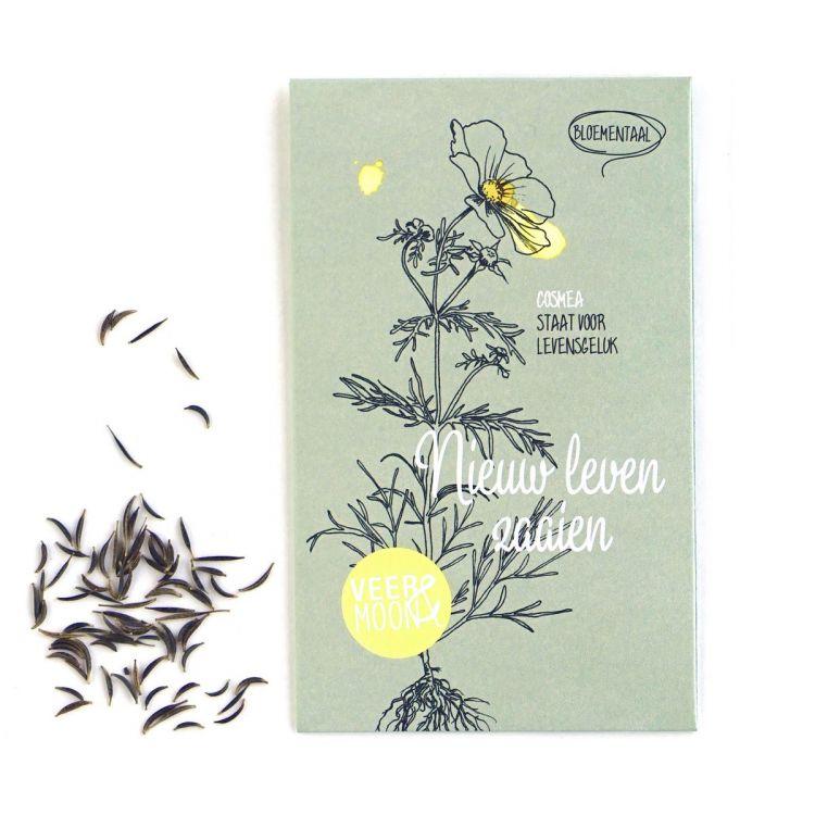 """Bloemenzaden, """"Nieuw leven zaaien"""", Veer&Moon"""