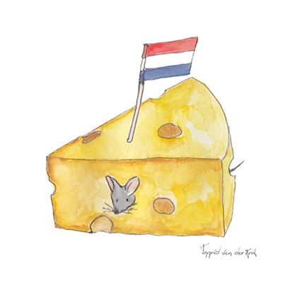 Minikaartje Hollandse kaas, Ingrid van der Krol