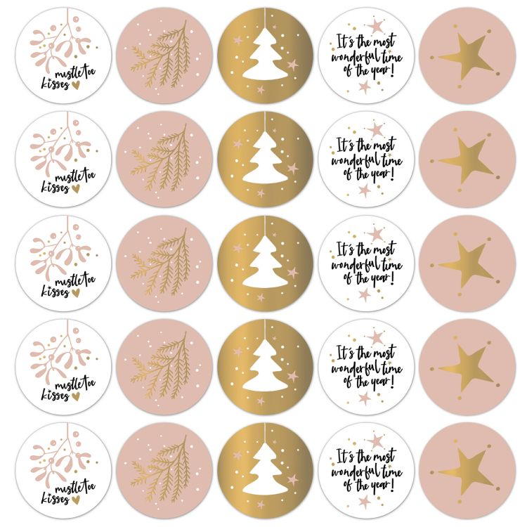 Kerststickers warm 21 (CWH)