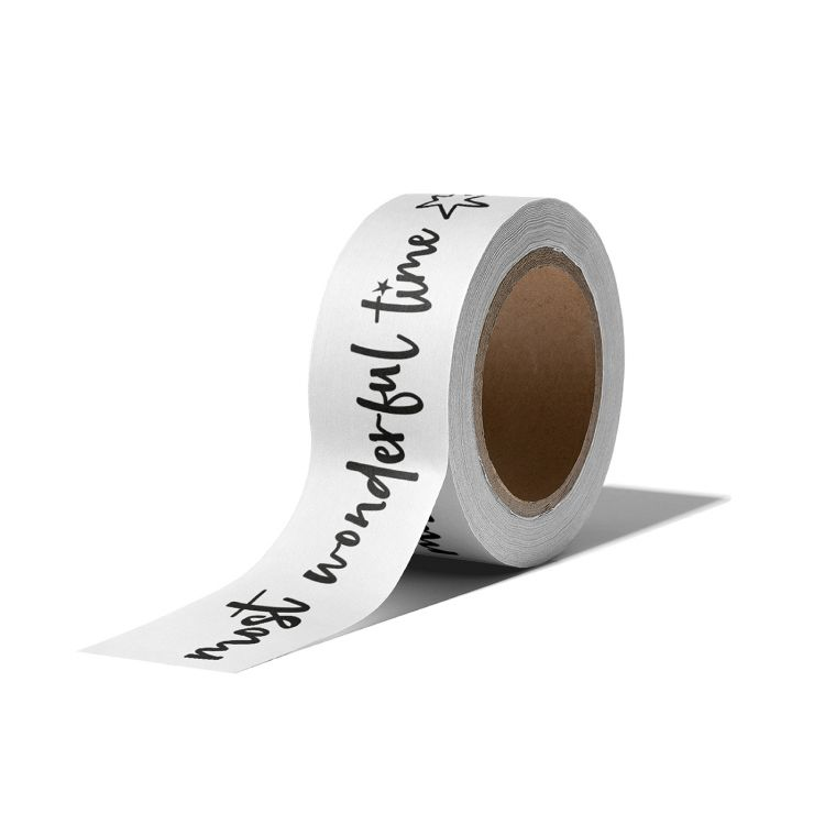 Maskingtape wit kerst, It's the most...(CWH)