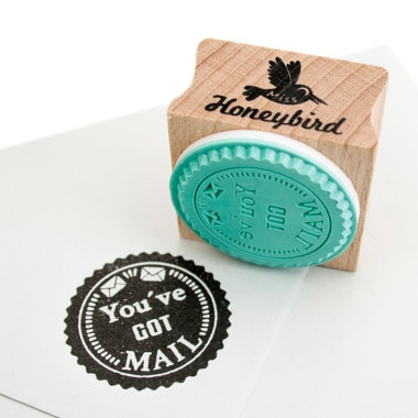 "Stempel ""You've got mail"" Miss Honeybird"