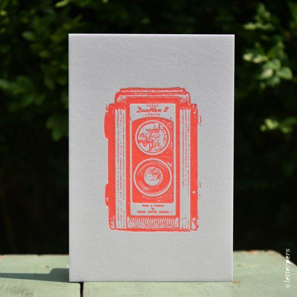 Camera kaart Kodak Duaflex Letterpers