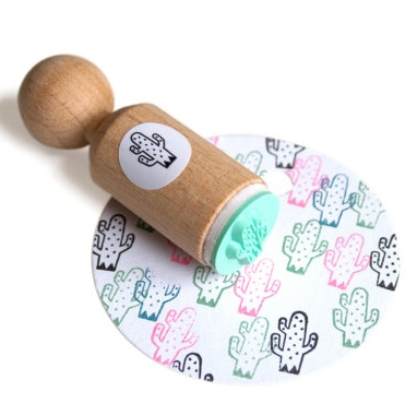 Mini stempel cactus (spikkel) Miss Honeybird