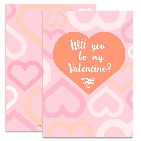Valentijnskaart A6