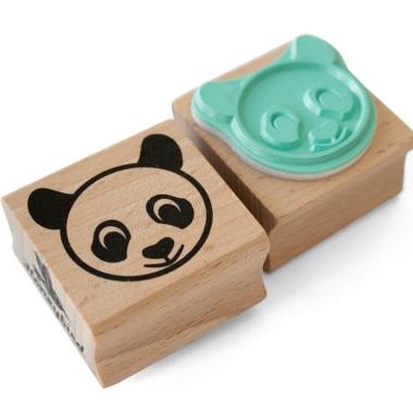Stempel panda, Miss Honeybird