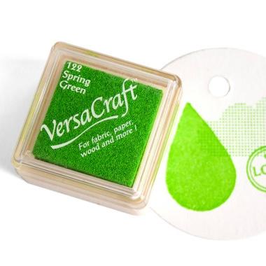 Stempelkussen Spring green (fris groen) Versacraft mini