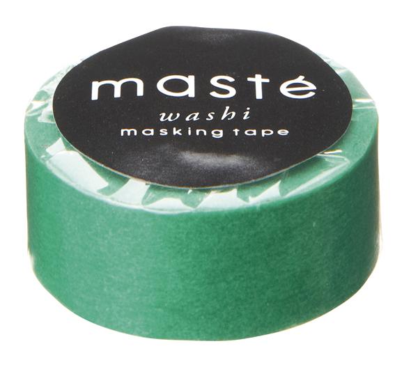 Masking tape in effen groen
