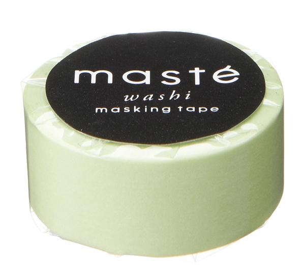 Maskingtape in licht mint