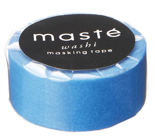 Masking tape in neon blauw